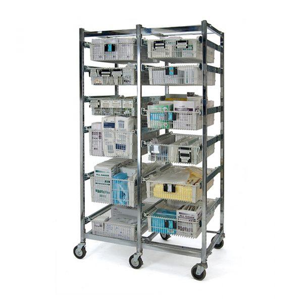 chariot médical bloc opératoire