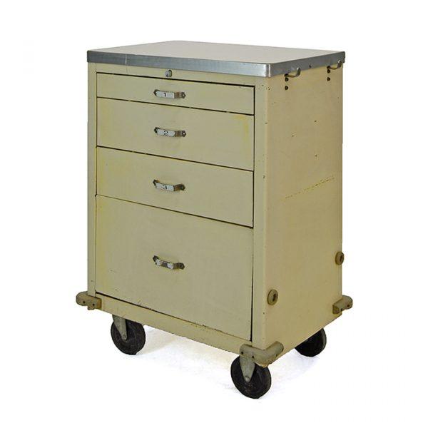 chariot infirmière vintage