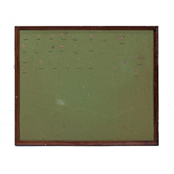 2098 tableau vert