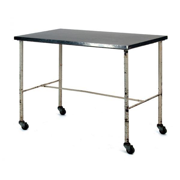 Table acier inoxydable, bloc opératoire, morgue