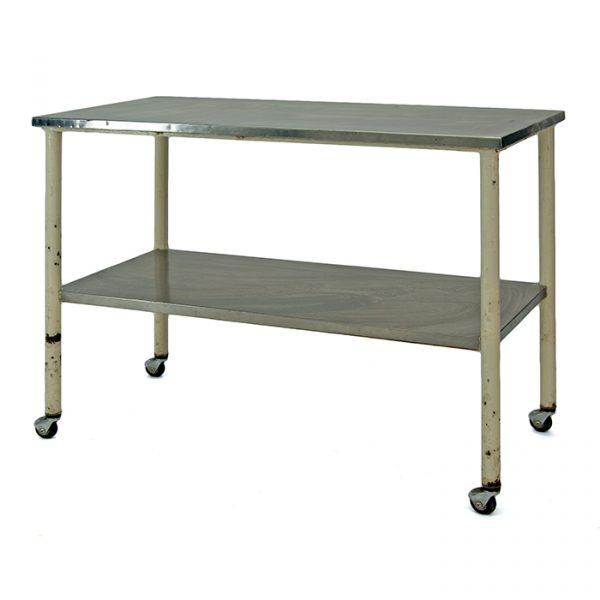 table acier inoxydable bloc opératoire