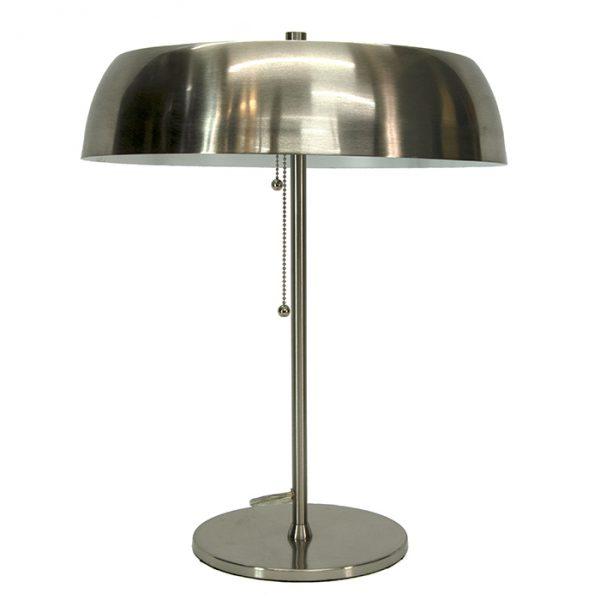 3197 Lampe en acier inoxydable