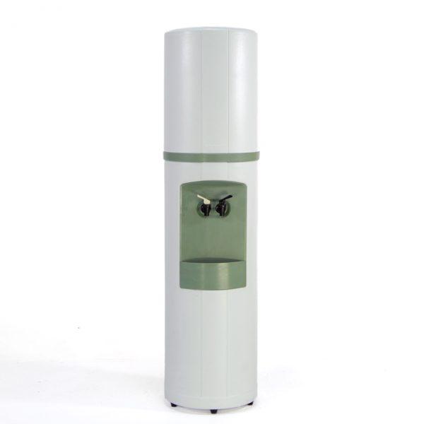 Distributeur eau blanc et vert #1358A   L12 x P12 x H48 po   qté 1