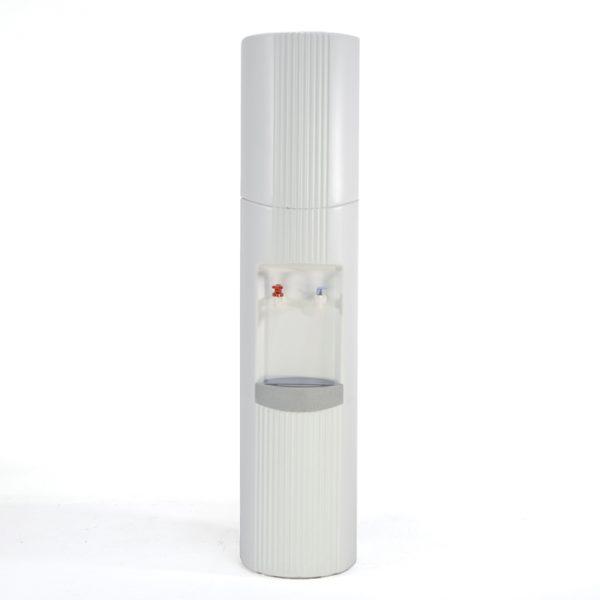 Distributeur eau blanc #1361A   L12 x P12 x H55 po   qté 1