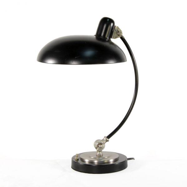 3199 Lampe noire avec attache papillon